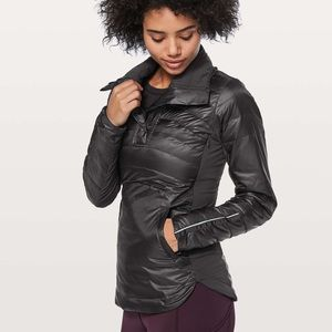 Lululemon Jacket Down For A Run Pullover II BLK 4
